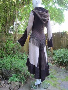 Recycled Sweater Coat #12 - @Jade Alvarez Alvarez Alvarez Alvarez Alvarez Wilson -an idea for you? ;)
