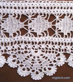 """MyPicot HOME WORK Free Pattern h006.pdf (Downloaded - SLT)  Crochet patterns from """"HOME WORK"""", ROSE PUBLISHING CO. (LTD.), 1881 """"Medallion Lace No. 87"""""""