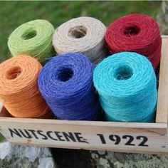 Gardener's Gift Set – Wee Seed Tray with Nutscene ® Twine Spools