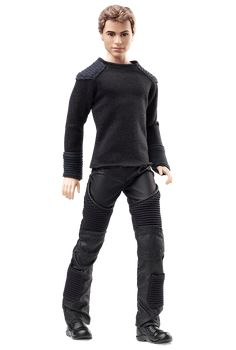Check out the Barbie Divergent Four Doll at the official Barbie website. Explore all Barbie dolls and accessories now! Barbie Und Ken, Barbie Blog, Barbie Doll Set, Barbie Website, Ken Doll, Barbie World, Mattel Barbie, Divergent Four, Tris And Four