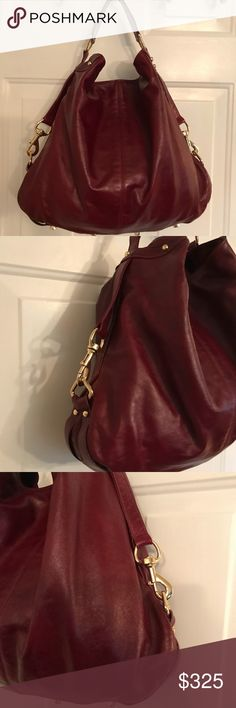 Rebecca Minkoff Large Red Leather Hobo Bag Mass posting.  Will add description shortly. If you have any questions prior to me adding that please message me. Rebecca Minkoff Bags Hobos