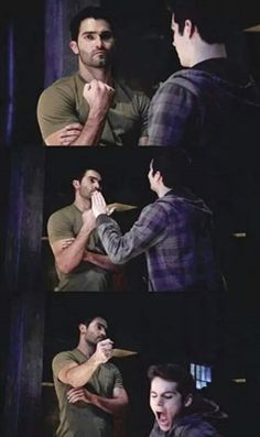 Fanfic / Fanfiction How did I fall in love with Derek Hale? Sterek – Chapter 9 – I'm an Alpha Teen Wolf Stiles, Teen Wolf Scott, Stydia Teen Wolf, Teen Wolf Derek Hale, Teen Wolf Boys, Teen Wolf Dylan, Stiles Derek, Teen Wolf Memes, Teen Wolf Quotes