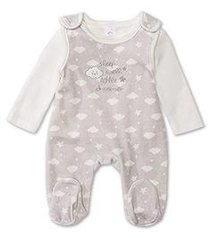 Babies Gr. 50-92 Strampler-Set in hellgrau - Mode günstig online kaufen - C&A