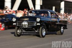 2012_SEMA_Cruise_Hot_Rod_1966_Chevy_Gasser_409 Photo on November 6, 2012