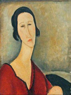Madame Z   Amedeo Modigliani