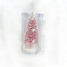 Sandra by Sandra Lee Pastry Confections Sisal Bottle Brush Tree Ornament - Seasonal - Christmas - Ornaments