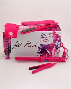 Beyond the Beauty Limited Edition Hot Pink Styling Iron Set  Modnique.com  #Modnique #Beauty