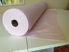 Supply Source: Tissue Paper by the Roll for Cutting Slippery Fabrics Sewing Tools, Sewing Hacks, Sewing Tutorials, Sewing Patterns, Sewing Ideas, Sheer Fabrics, Tissue Paper, Diy Art, Diy Crafts