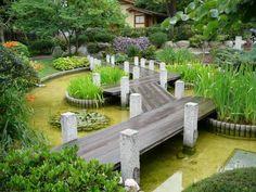 Garden Paths, Garden Bridge, Garden Art, Garden Landscaping, Japan Garden, Garden Features, Garden Styles, Dream Garden, Shade Garden