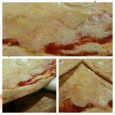 Pizza con muuucho queso. Tahona Artesana. Gourmet Bilbao