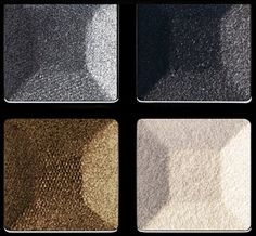 NEW! GIVENCHY PRISME QUATUOR EYESHADOW PALETTES / 04 Impertinence - a harmony inspired by Parisian rooftop colors and reflections. Silver and Gold patina tones, black and white - contrast for a definitely couture look.