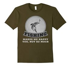 Fishing Humor, Fishing T Shirts, Make Me Happy, Amazon, Funny, Mens Tops, How To Make, Stuff To Buy, Fashion