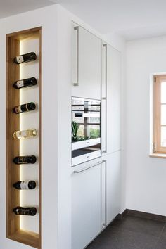 Deutschlands schönste Küche › Küchen | Marken-Einbauküchen der LEICHT Küchen AG #WineStorage