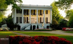 University of Alabama President's mansion on University Blvd Tuscaloosa Alabama