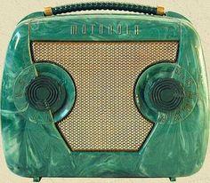 1949 Motorola 49L13Q Catalin Tube Radio