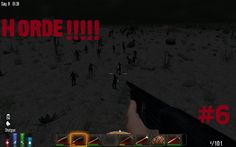Game: 7 Days to Die thrusts players into the aftermath of the fall of civilization with only their wits and bare hands to survive. 7 Days To Die, Horde, Fun Funny, Game, Movie Posters, Film Poster, Gaming, Toy, Billboard