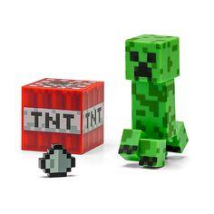 "Minecraft 3"" Figures"