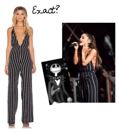 """Ariana Performing """"Just A Little Bit Of Your Heart"""" with Coldplay at Global Citizen Festival in NYC  by osnapitzmonica on Polyvore featuring polyvore, fashion, style and Faithfull the Brand  Ariana Inspired made on Polyvore by me"""