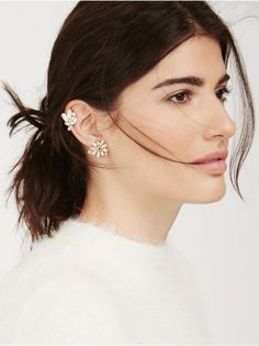 19 Pairs of Earrings for Every Type of Piercing via Brit + Co