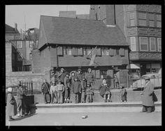 Paul Revere House circa 1950s