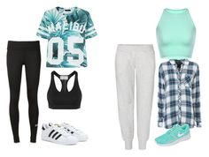 """""""Untitled #261"""" by sikarjazmin on Polyvore featuring Rails, NIKE and adidas"""