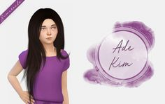 Ade Kim Hair Kids Version at Simiracle • Sims 4 Updates