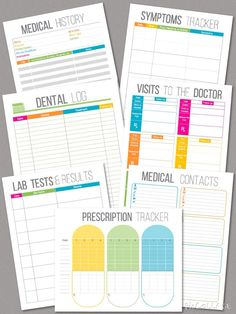 Blank Medication Administration Record Form | printables | Pinterest