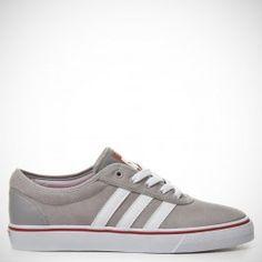 finest selection 1e7b6 cc34b Adidas Adi Ease ADV Medium Solid GreyWhitePower Red Skateboard,  Skateboarding,