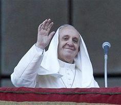 Francisco asumió como obispo de Roma y ratificó su popularidad - 08.04.2013 - lanacion.com