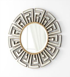 Gold Cleopatra Mirror - Home decor 4 Seasons