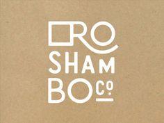 Roshambo Logo Mark by Kristen Drozdowski #LogoCore