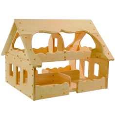 The Maine Wooden Dollhouse