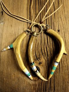 Antler pendants