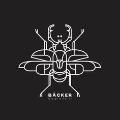 Estúdio Bäcker cria incríveis projetos gráficos de Design & Motion com estilo…