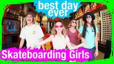 Skateboarding Girls at Walt Disney World | BDE | WDW Best Day Ever