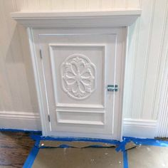 Top 50 Best Doggy Door Ideas - Canine Convenience DesignsOrnate White Painted Door With Luxury Trim Home Ideas For Doggy Steel Patio Prehung Double Door Unit with Pet Door Steel Patio House Design, Door Installation, Decor, Stylish Furniture, Dog Door Installation, Diy Doggie Door, Diy Door, Doors, Painted Doors