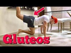 El mejor entrenamiento de GLÚTEOS en casa | vlog - YouTube