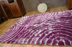 Koberce Shaggy | Koberec Shaggy 3D - fialový | Top-koberce.sk Shaggy, 3d, Rugs, Furniture, Home Decor, Homemade Home Decor, Types Of Rugs, Home Furnishings, Rug