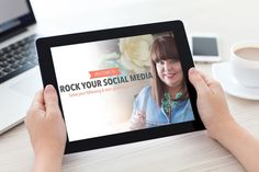Rock your social media with this free course. Learn social media with my easy, one-hour video course that's absolutely free. Click to sign up!