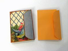 """Transform a 6"""" x 9"""" manila envelope into a fun junk journal! Thanks so much for watching! :)"""