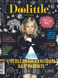 Doolittle n°16/ Girl Cover / Photo Arno Lam & Stylisme Anne-Charlotte Vermynck