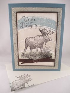 "Stampin Up ""Walk in the Wild"" Handmade Any Occasion Card #AnyOccasion"