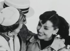 Audrey Hepburn, Kay Thompson and Fred Astaire...