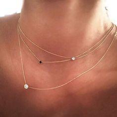 Tektaş Kolyeler Lumiere Kalitesiyle... #tektaş #kolye #lumiere #mücevher #pırlanta #diamond #rosegol - diamond.lumiere