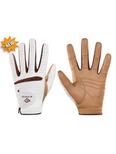 Ladies Golf Accessories : Bionic RelaxGrip™ Caramel Palm Golf Glove for Women