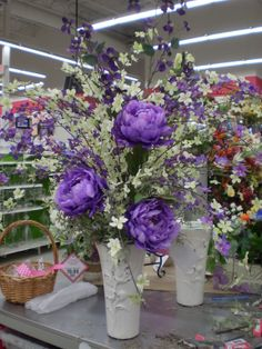 Purple and Green for Spring Sherrie Michaels NJ