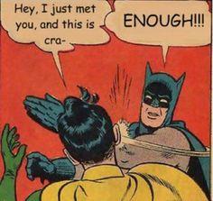 Batman says enough to the Carly Rae Jepsen memes.