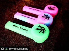 #Repost @myredeyesupply with @repostapp  Anytime anywhere http://www.MyRedEyeSupply.com or link in bio. Blaze YOUR own trail & tag us in you pics and we will repost #piecemakergear.com #piecemaker #BlazeYourOwnTrail #byot #siliconewaterpipe #thc #ganja #420 #budtender #fratlife #maryjane #marijuana #siliconebongs #medicalmarijuana #siliconebong #dabbing #videogames #bigindustryshow #smokeweedeveryday #andthenigothigh #bong #710  #cannabis #stonernation @piecemakergearaustralia
