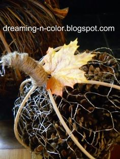 Spend a few uproarious minutes with your little ones collecting pine cones in the yard. Then bring 'em inside and craft up these amazing Pine Cone Pumpkins! Pinecone Crafts Kids, Pine Cone Crafts, Fall Crafts, Halloween Crafts, Christmas Crafts, Crafts For Kids, Arts And Crafts, Halloween Pics, Haunted Halloween