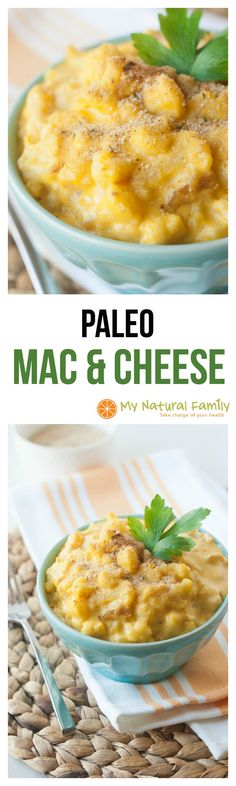 Paleo Mac and Cheese Recipe with no Nutritional Yeast or Cashew Milk